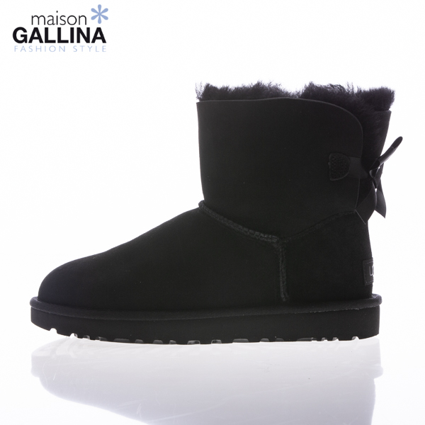 ugg bailey bow nero